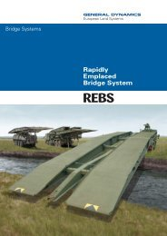 Bridge REBS - General Dynamics