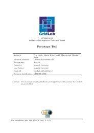 Prototype Tool - GridLab