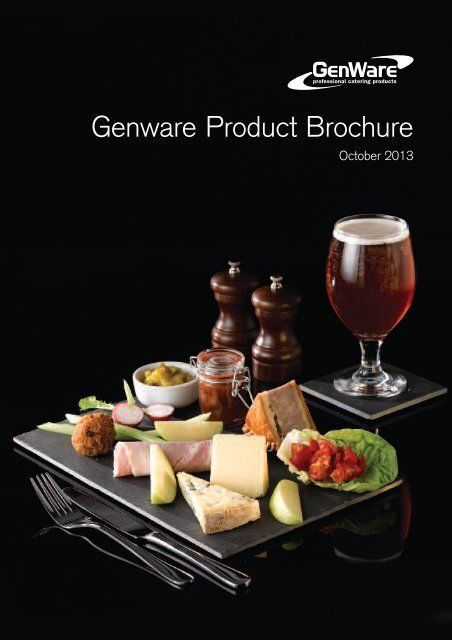 Genware NEV-180626 Royal Square Plate 26 cm 2 Pack x 3