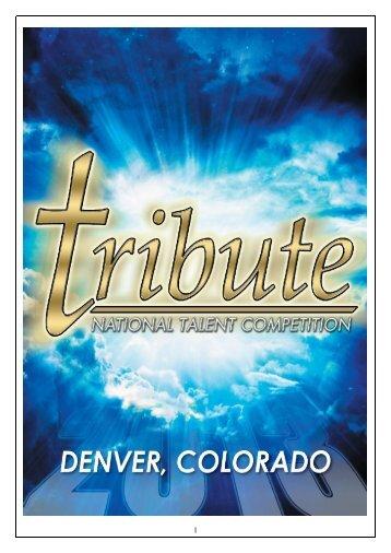 Dear Teachers, Dancers, Families And Friends - Tribute National ...