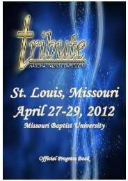 Tribute National Talent