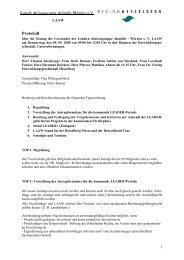 Protokoll - Region Hesselberg CMS