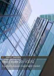 Real Estate 2011/2012 - Invest Sweden