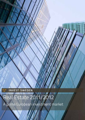 Real Estate 2011/2012 - Invest Sweden
