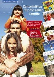 Zeitschriften für die ganze Familie 50% Rabatt - Worship Academy