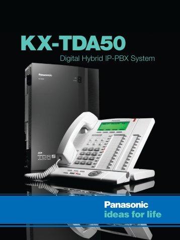 KX-TDA 50 Brochure - Kingtechnologies.com