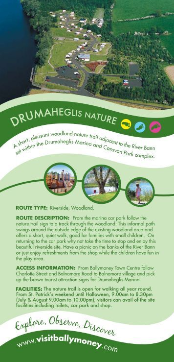 Drumahegalis Nature brochure - Visit Ballymoney