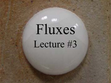 Lecture #3 - Alfred's Clay Store
