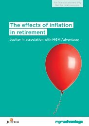 The effects of inflation in retirement - MGM Adviser