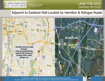 LAND FOR SALE Adjacent to Eastland Mall-Located by Hamilton ...