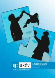 Elternberatung - Stiftung Jugendhilfe aktiv