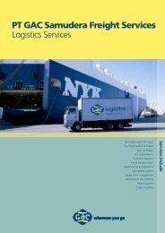 PT GAC Samudera Freight Services Logistics Services