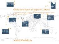 öffentlicher Raum im digitalen Zeitalter - Interactionfield