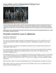 28 medals awarded for rescue in Afghanistan - US Army Warrant ...