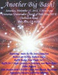 2012 Auction Catalog - Unitarian Universalist Church of Palo Alto