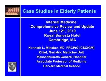 Case Study Mr. Aponi Neuro/ Dementia Vs Delirium