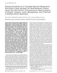 Characterization of a Tunable Optical Parametric Oscillator Laser ...