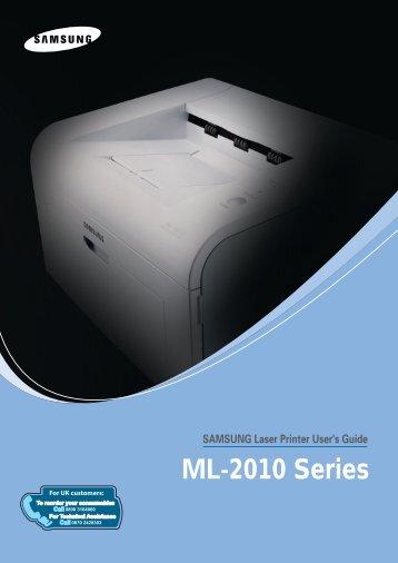 SAMSUNG Laser Printer User's Guide - SimPC