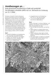 Annäherungen an… - Lehrstuhl für Landschaftsarchitektur