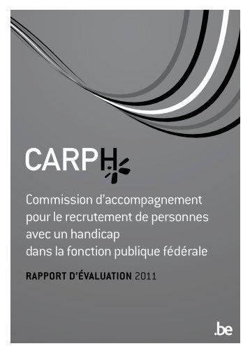 CARPH: Rapport d'évaluation 2011 (noir et blanc) (PDF ... - Fedweb