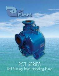 PCT Series Self Priming Trash Handling Pump - Motion Industries