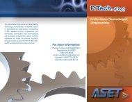 P.Tech. (Eng.) - ASET