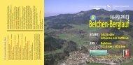 Ausschreibung Belchen-Berglauf 2013.pdf - Belchen-Berglauf - TuS ...