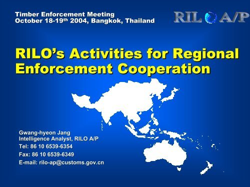 Regional Intelligence Liaison Office for Asia/Pacific - Inece