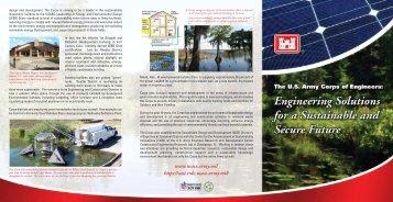 Sustainability Brochure - U.S. Army Corps of Engineers