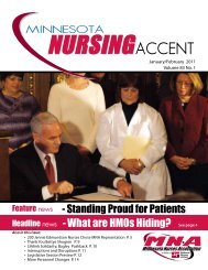 MN Accent January:February 2011.pdf - Minnesota Nurses ...