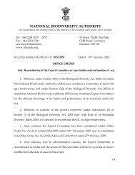 31 - National Biodiversity Authority