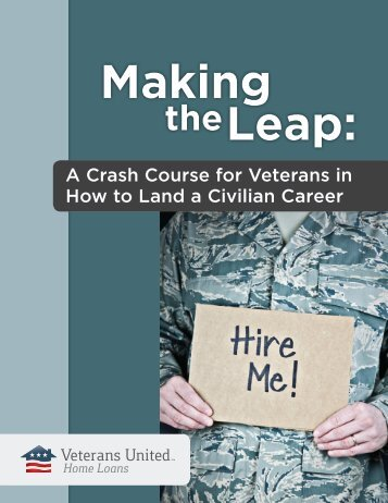 our guide to veteran employment - Veterans United Home Loans