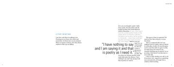 """i have nothing to say and i am saying it and that is ... - cdgd34102a12"