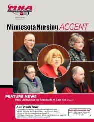 FEATURE NEWS - Minnesota Nurses Association
