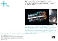 PCI Express Graphics Quick Reference Card