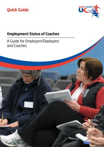 A Guide for Employers/Deployers and Coaches - RFU.com