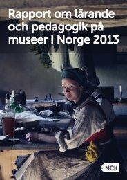 Rapport-om-lärande-och-pedagogik-på-museer-i-Norge-2013
