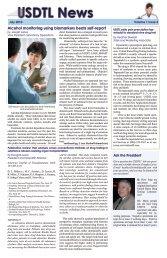 SDTL News - United States Drug Testing Laboratories
