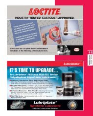 Chemicals, Adhesives, Lubricants & Equipment - Motion Industries