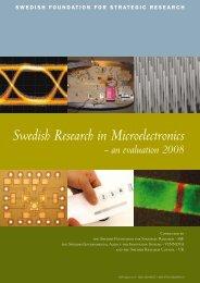 Swedish Research in Microelectronics