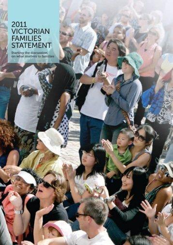 2011 Victorian Families statement
