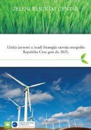 Ucesce javnosti u izradi Strategije energetike - NVO Green Home
