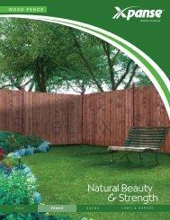 Barrette Xpanse_Wood Fence Sell Sheet - BlueLinx