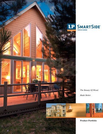LP SmartSide Product Portfolio - Housing Zone