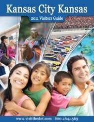 Kansas City Visitor's Guide - USCA National Championship  2011