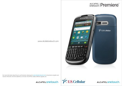 Alcatel One Touch Premiere Manual - US Cellular