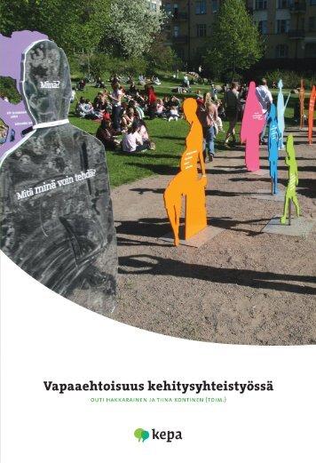 Vapaaehtoistyön motiivit kehitysyhteistyössä - Kepa.fi