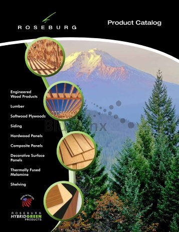 Roseburg Product Catalog - BlueLinx