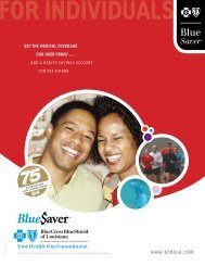 For IndIvIduals - eHealthInsurance