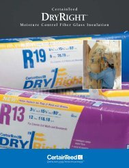 CT DryRight Product Brochure - BlueLinx